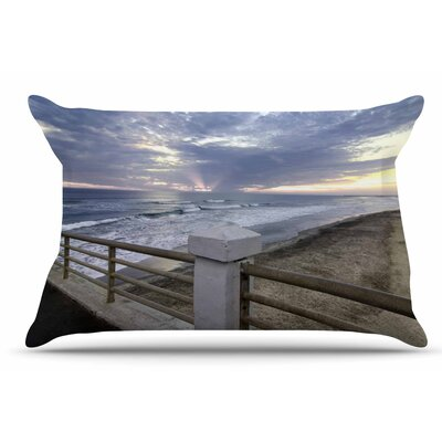 Nick Nareshni Oceanside Pier At Sunset Coastal Photography Pillow Case