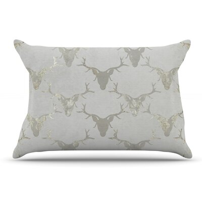 Michelle Drew Gilded Stags Pillow Case