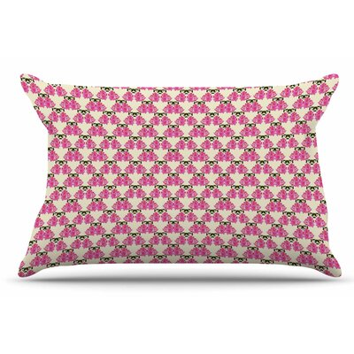 Mayacoa Studio 'Rosea' Pillow Case