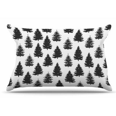 Marta Olga Klara Pine Forest Nature Pillow Case