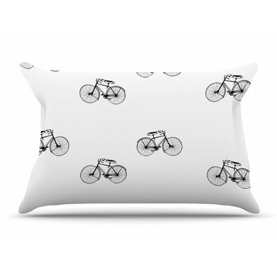 Suzanne Carter Vintage Wheels Pillow Case