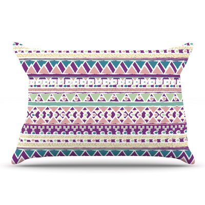 Nika Martinez 'Boho Ibiza' Pastel Pillow Case
