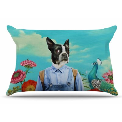 Natt 'Family Portrait N3' Dog Pillow Case