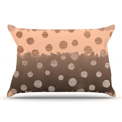 Nika Martinez 'Earth Dots' Pillow Case