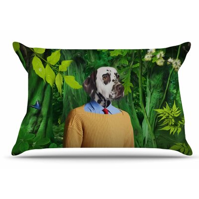 Natt Into The Leaves N1 Dog Pillow Case