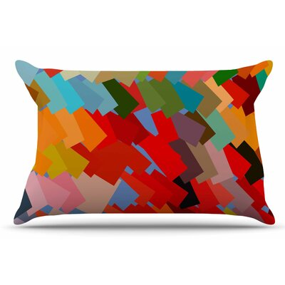 Matthias Hennig 'Playful Rectangles' Pillow Case