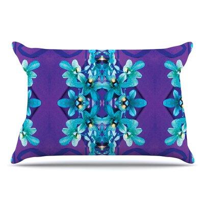 Dawid Roc Orchids Floral Pillow Case