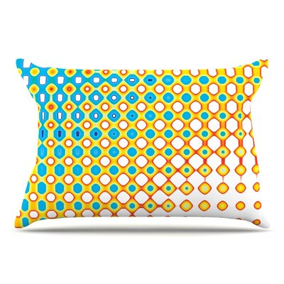 Dawid Roc Psychedelic Art Pillow Case