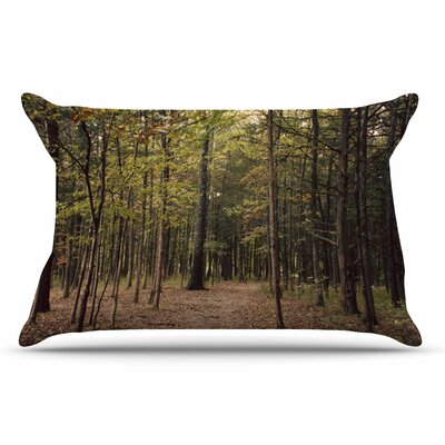 Sylvia Coomes Forest Trees Pillow Case