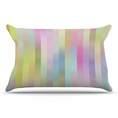Dawid Roc Sweet Pastel Lines 1 Pillow Case