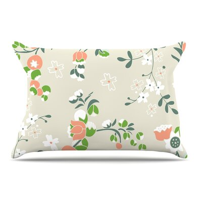 Very Sarie Early Waking Floral Pillow Case