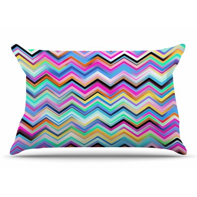 Dawid Roc Colorful Chevron Pillow Case