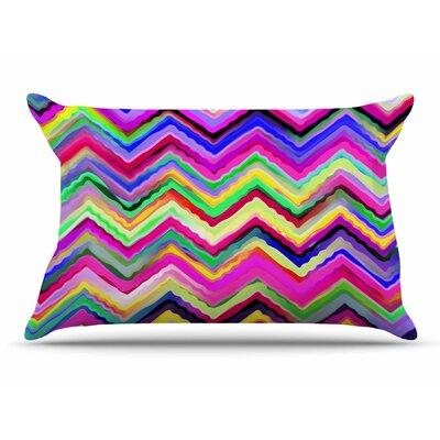 Dawid Roc Colorful Chevron Pillow Case