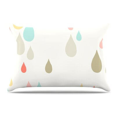 Very Sarie Rainy Days Rain Pillow Case