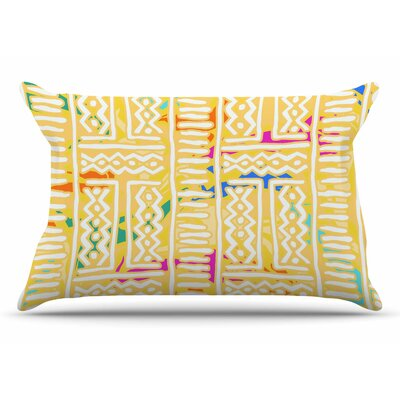 Dan Sekanwagi Lines And Zigzags - Colorful Tribal Pillow Case