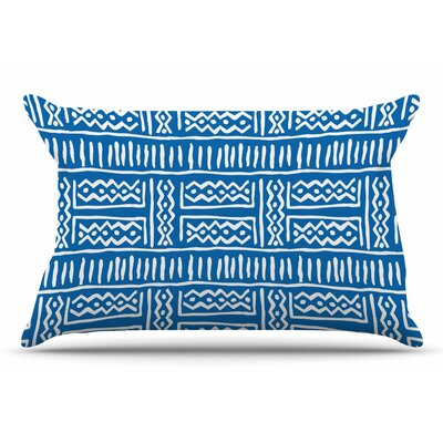 Dan Sekanwagi Lines And Zigzags Tribal Pillow Case