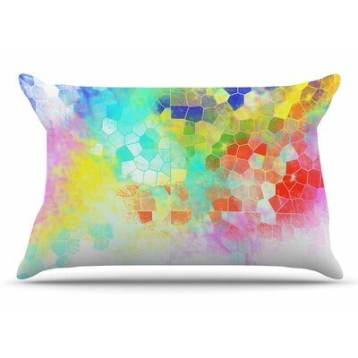 Dan Sekanwagi Color Structure Abstract Pillow Case