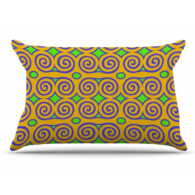 Dan Sekanwagi Locked RamS Horns-Clear Day Digital Pillow Case
