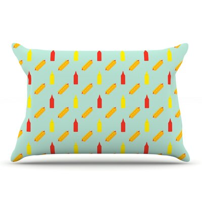 Will Wild Hot Dog Ii Food Pillow Case