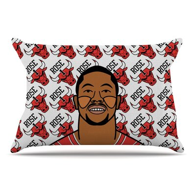 Will Wild Derrick Rose Basketball Pillow Case
