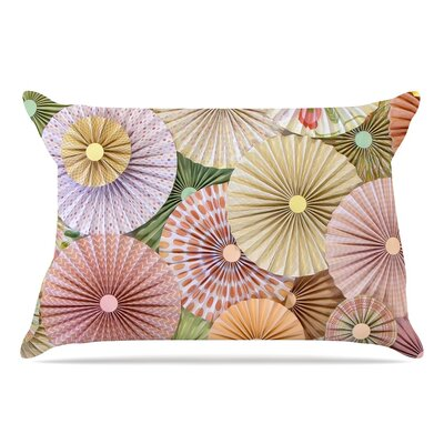 Heidi Jennings Spring Pastels Abstract Pillow Case