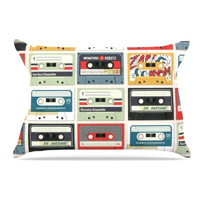 Heidi Jennings Retro Tape Pillow Case