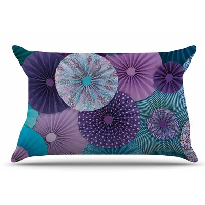 Heidi Jennings Amethyst Glacier Pillow Case