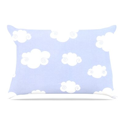 Heidi Jennings Happy Clouds Pillow Case