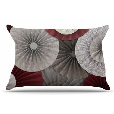 Heidi Jennings Merlot Abstract Pillow Case