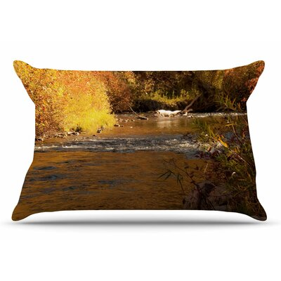 Sylvia Coomes Autumn Stream Pillow Case