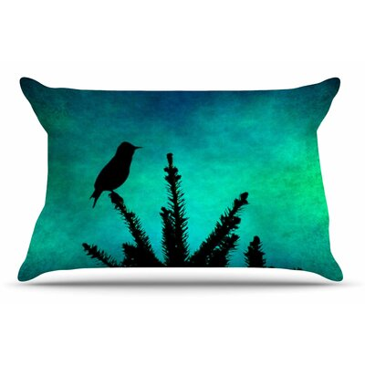 Sylvia Coomes Bird Silhouette Pillow Case