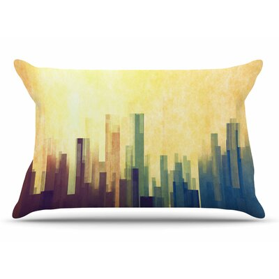 Cvetelina Todorova Cloud City Pillow Case