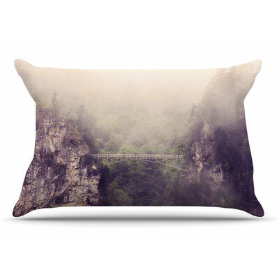 Sylvia Coomes Foggy Mountain Landscape Pillow Case