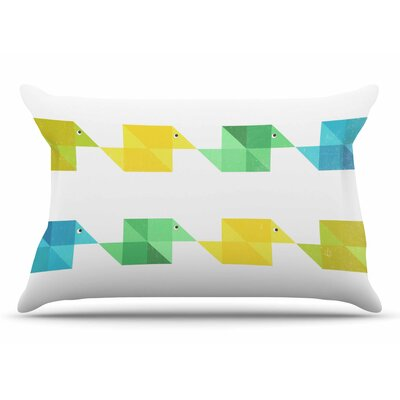 Cvetelina Todorova Duck Pillow Case