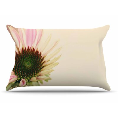 Sylvia Coomes Pink And Flower Blush Floral Pillow Case