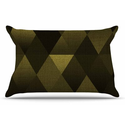 Cvetelina Todorova Golden Triangles Pillow Case