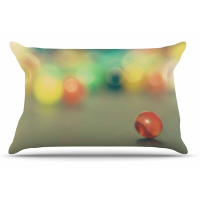 Sylvia Coomes Marble Bokeh Abstract Pillow Case