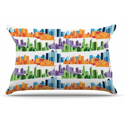 Stephanie Vaeth Australian Cities Pillow Case