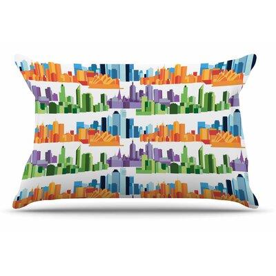 Stephanie Vaeth Australian Cities Pillow Case