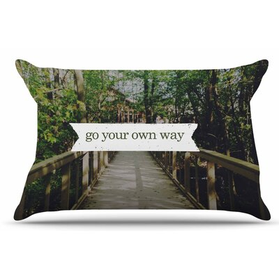 Chelsea Victoria Go Your Own Way Nature Pillow Case