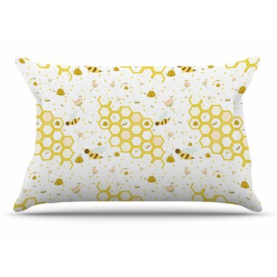 Stephanie Vaeth Honey Bees Pillow Case
