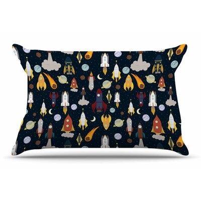 Stephanie Vaeth Rockets Celestial Pillow Case