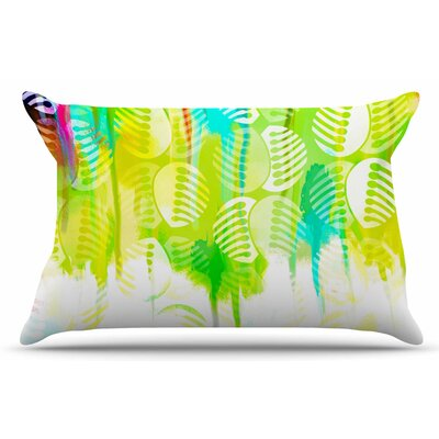 Dan Sekanwagi Poddy Combs - Wet Paint Pillow Case