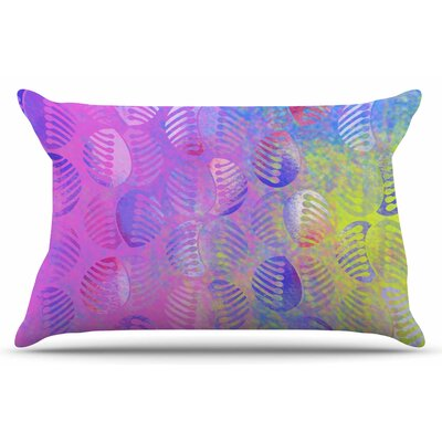 Dan Sekanwagi Poddy Combs - Subtle Pastels Pillow Case