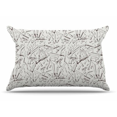 Stephanie Vaeth Apocalyptic Weapons Urban llustration Pillow Case