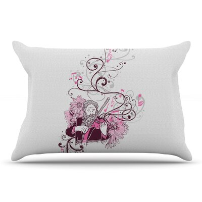 Tobe Fonseca Violinist Pillow Case