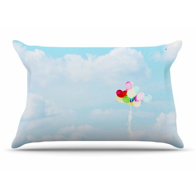 Sylvia Coomes Balloons In The Sky Photography Kids Pillow Case