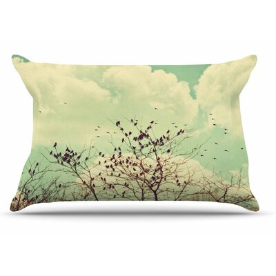 Sylvia Coomes Birds Of A Feather Pillow Case