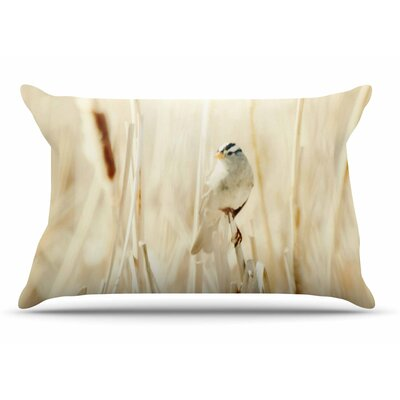 Sylvia Coomes Bird In Ethereal Light Pillow Case