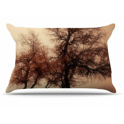 Sylvia Coomes Rust Trees Photography Nature Pillow Case